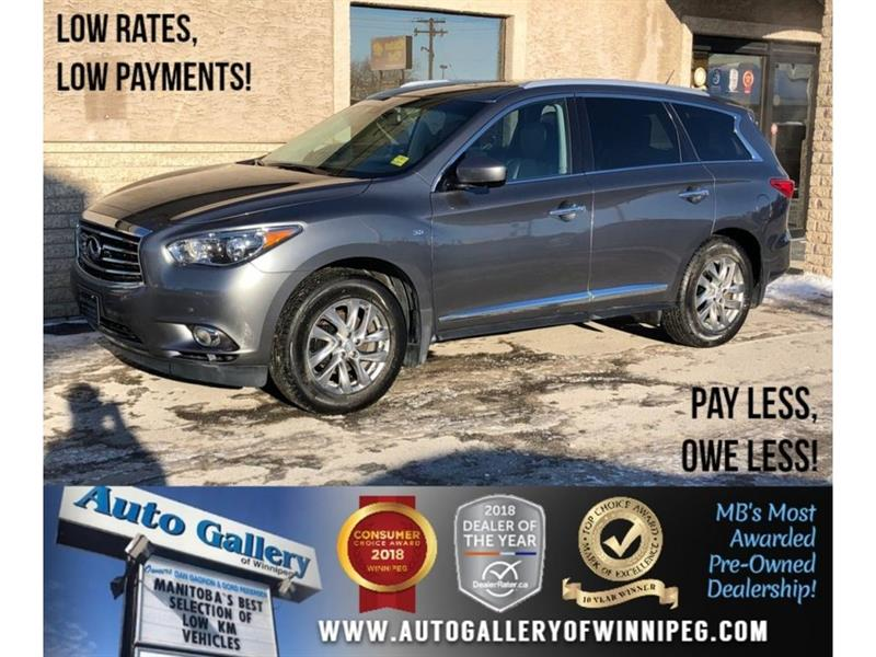 2015 Infiniti Qx60 *AWD/Htd Lthr/Sunroof/Navi/7 Pass #23686