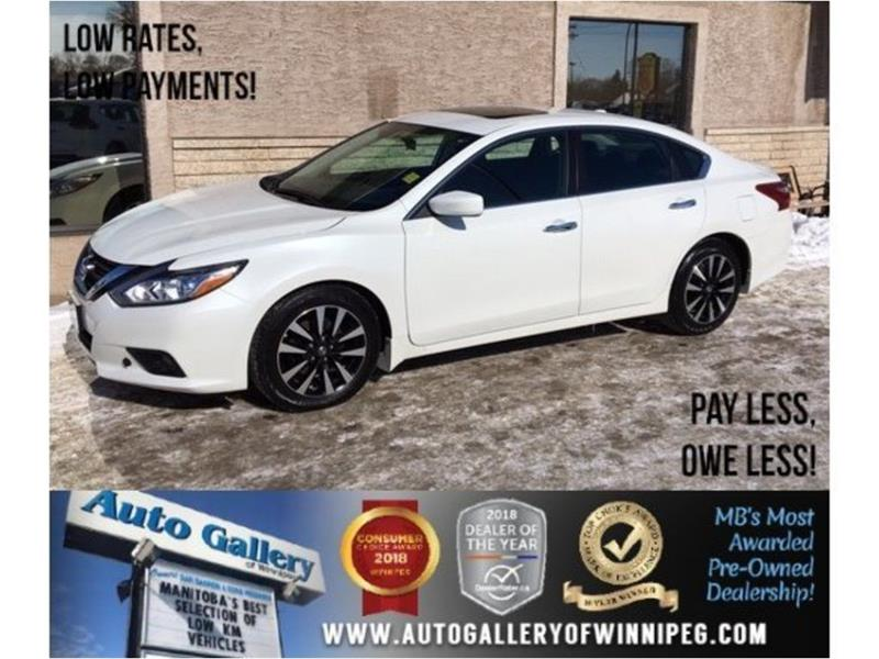 2018 Nissan Altima 2.5 SV *Htd Seats/Roof/Bluetooth/B.Cam #23695