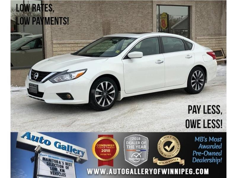 2017 Nissan Altima 2.5 SV  *Htd Seats/Roof/Bluetooth/B.Cam #23712
