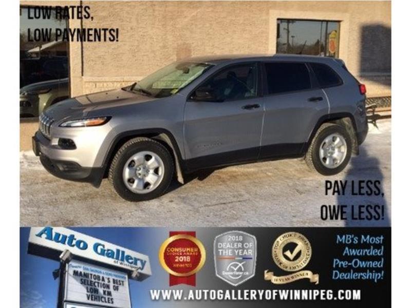 2016 Jeep Cherokee Sport *4X4/3.6L V6/9Spd Auto #23723