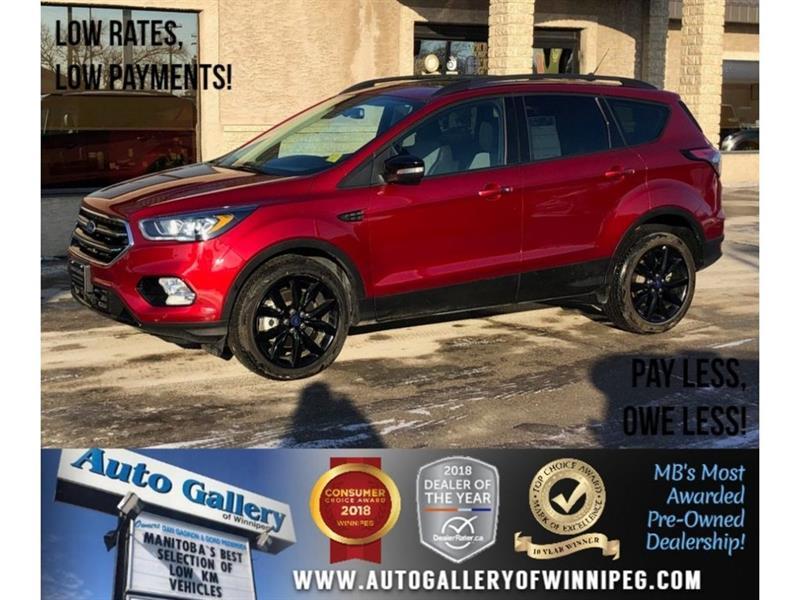 2018 Ford Escape Titanium *AWD/Navi/Backup Cam/Htd Lthr #23739