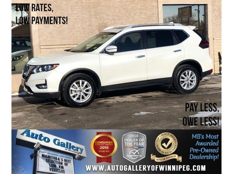 2018 Nissan Rogue SV *AWD/Backup Cam/Pano Roof #23729