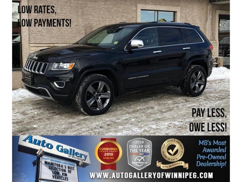 2014 Jeep Grand Cherokee Limited *4X4/Htd Lthr/SRT Hood & Wheels #23750A