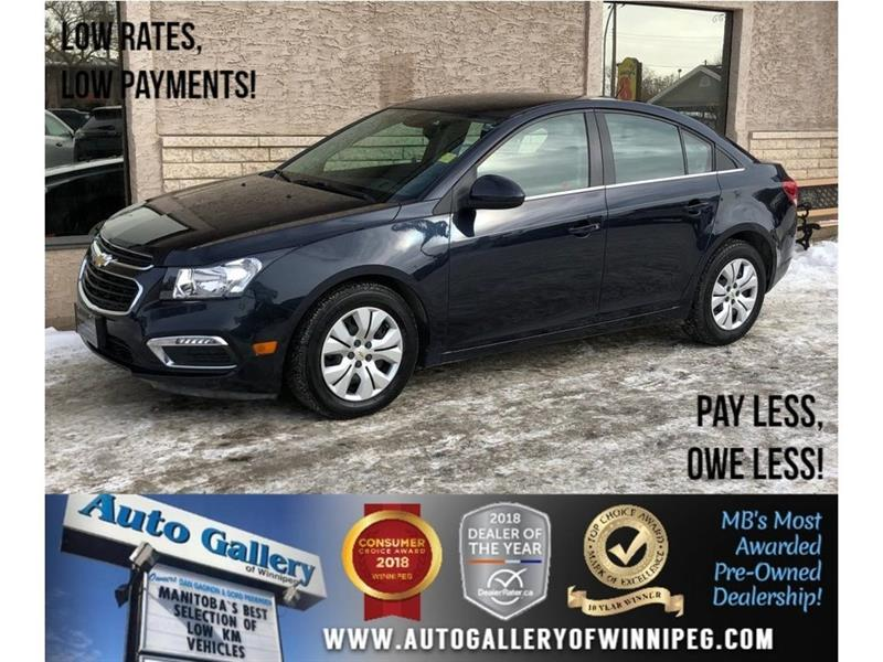 2016 Chevrolet Cruze Limited *Backup Cam/Bluetooth/Htd Seats #23766A