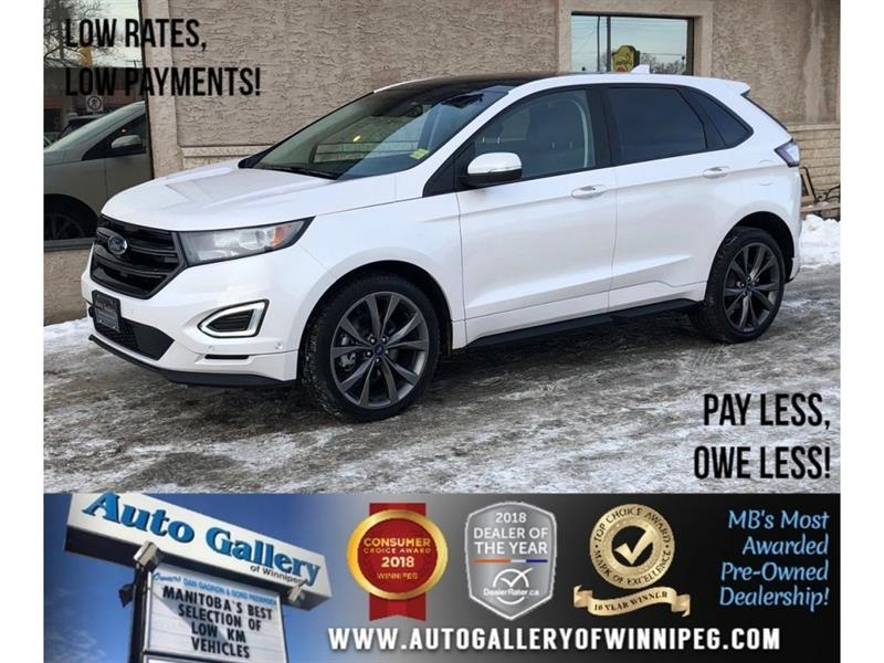 2018 Ford EDGE Sport *AWD/Htd Lthr/Navi/Bluetooth/Pano #23776