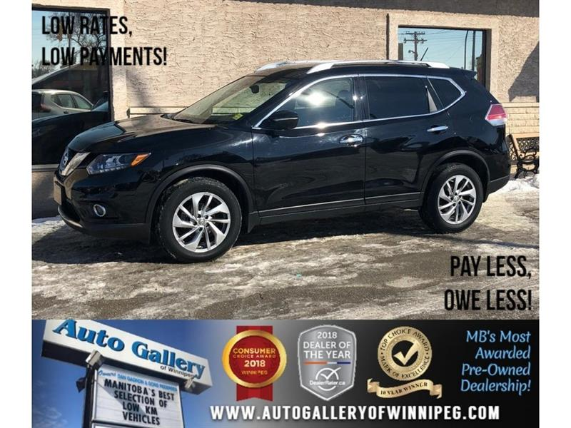 2015 Nissan Rogue SL *AWD/Htd Lthr/Navi/Roof/Backup Cam #23777