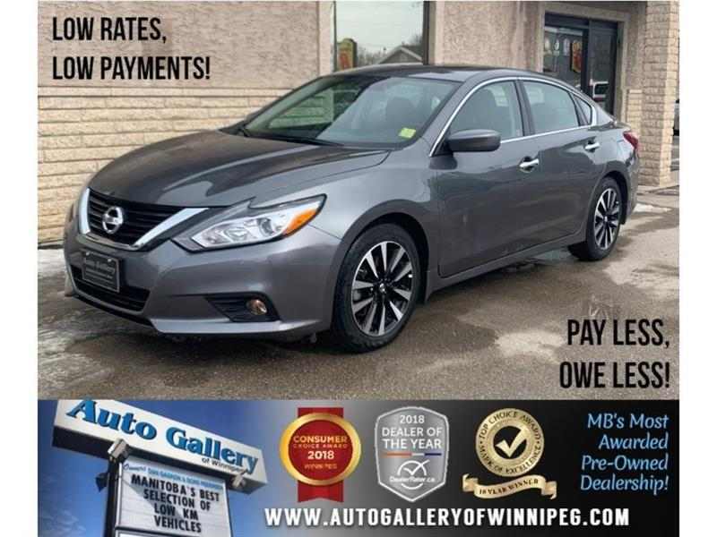 2018 Nissan Altima 2.5 SV *Htd Seats/Roof/Bluetooth/B.Cam #23781