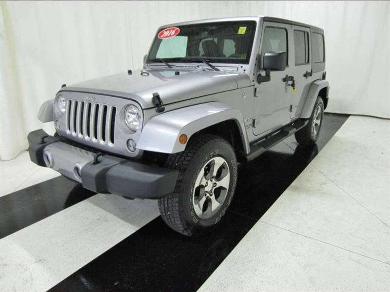 2016 Jeep Wrangler Unlimited SAHARA, NAVIGATION #16JW35326