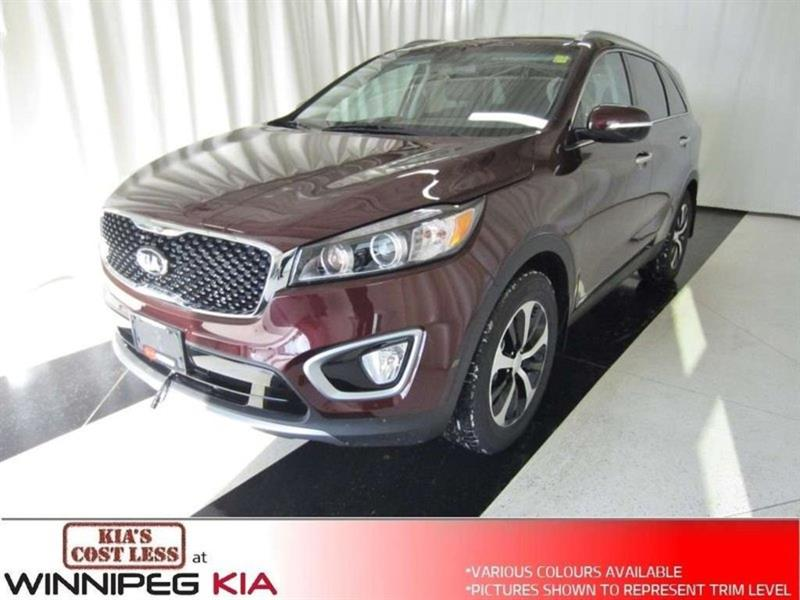 2018 Kia Sorento EX V6 *Seats 7, Leather Interior & Lots More!* #18SR494