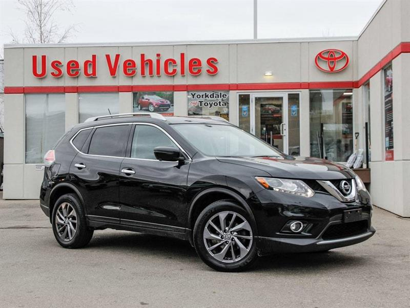 2016 Nissan Rogue SL   Navi   Leather   Panoroof   Alloys #8838591A