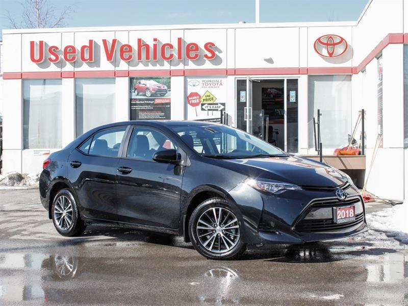 2018 Toyota Corolla LE   Sunroof   Alloys   Adaptive Cruise #P7899