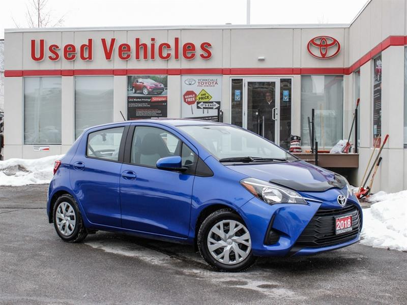 2018 Toyota Yaris LE   R.Cam   Keyless   B.Tooth   Cruise #P7909