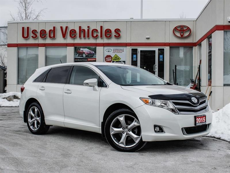 2015 Toyota Venza V6 FWD   H.Seats   R.Cam   B.Tooth   Keyless #L7856A