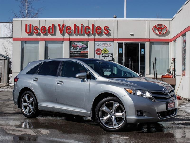 2015 Toyota Venza XLE V6 AWD   Leather   Navi   New Tires #L7925