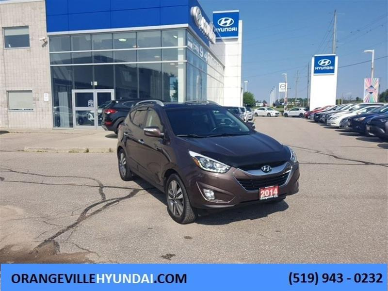 2014 Hyundai Tucson Limited AWD - Leather/NAV/Pano Roof #86009A