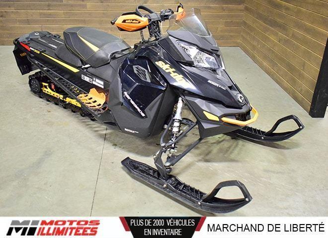 Ski-Doo Renegade 800R Backcountry E-TEC 2014