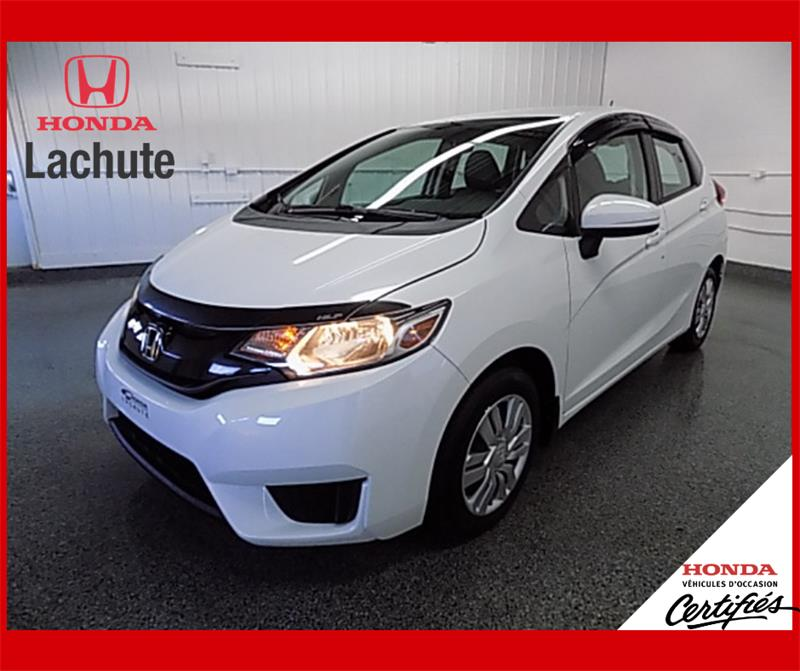 Honda Fit 2015 LX/ AUTO/ AIR/ GARANTIE 2022 #HU-2612
