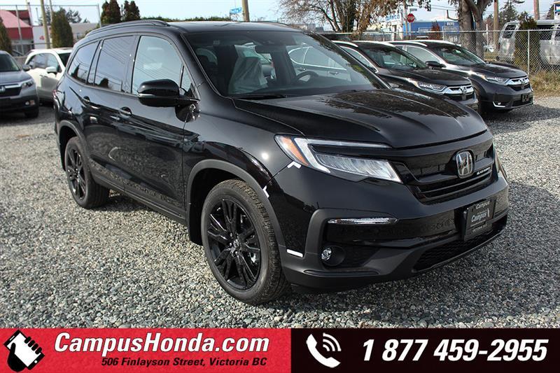 2019 Honda Pilot Black Edition #19-0445