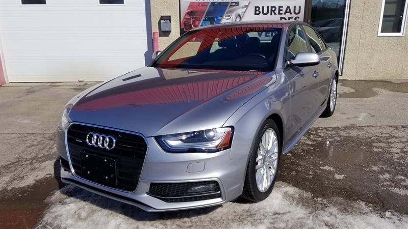 2015 Audi A4 2.0T, KOMFORT PLUS, S-LINE #6372