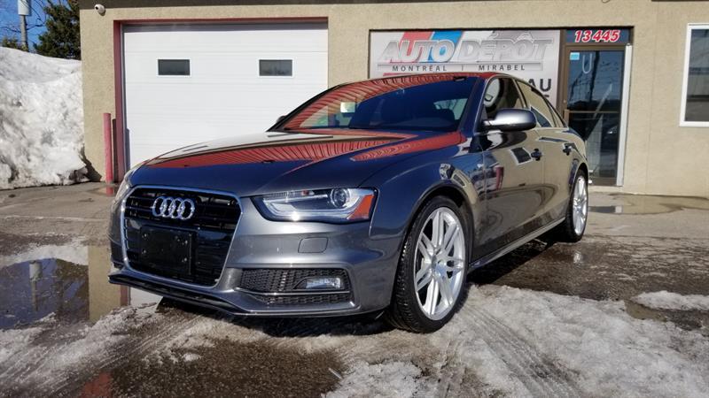 2014 Audi A4 2.0T PROGRESSIV, S-LINE, QUATTRO,  #6373
