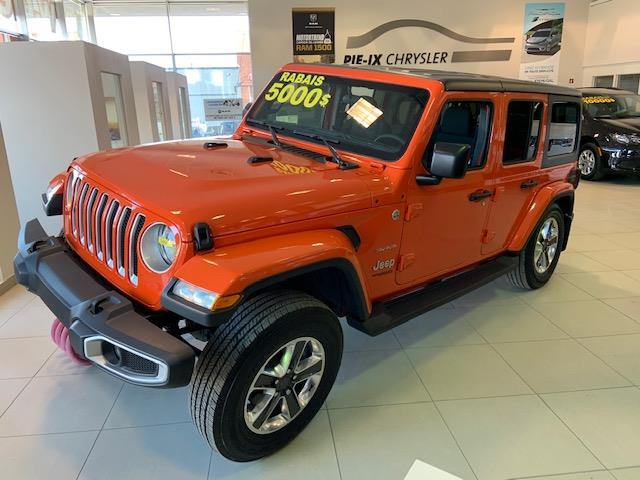 Jeep Wrangler Unlimited 2018 Sahara 4x4 #Z18651