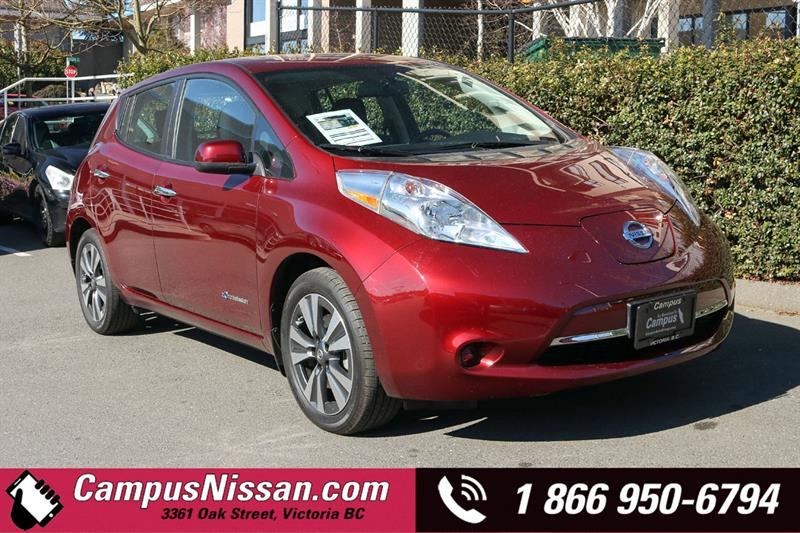 2016 Nissan Leaf | SV | FWD w/ Quick-Charge #JN3117