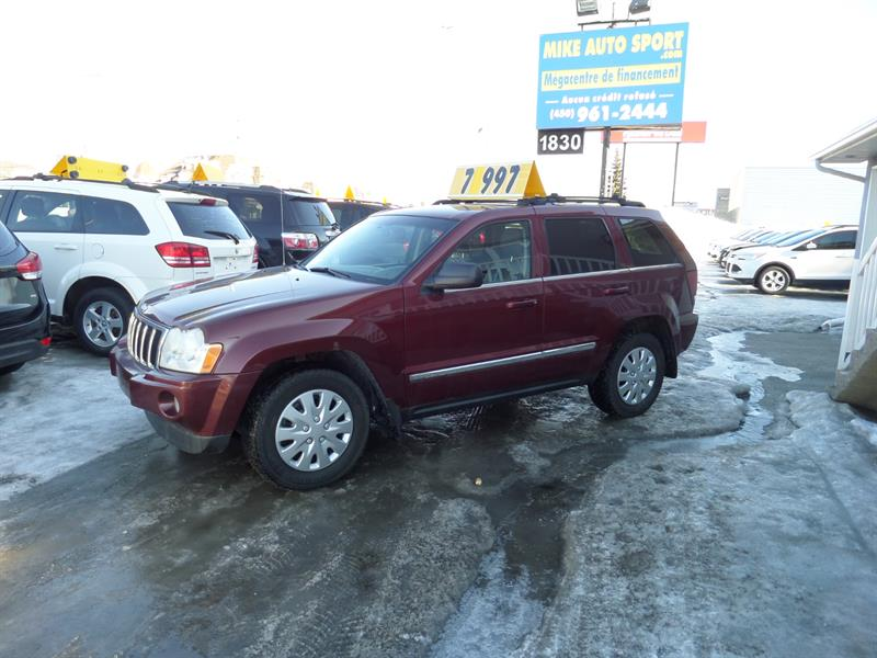 Jeep Grand Cherokee 2007 4WD Limited diesel