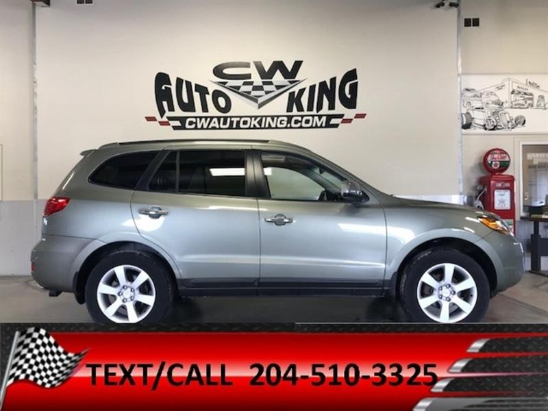 2009 Hyundai Santa Fe Limited 3.3L/ Low Km / All Wheel/Leather/Roof #20042374