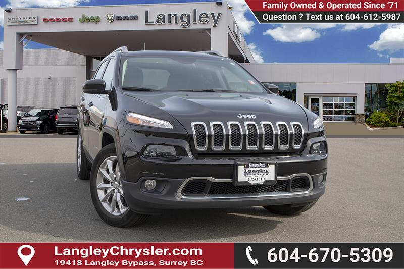 2017 Jeep Cherokee Limited #K570611A