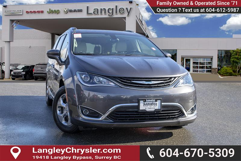 2018 Chrysler Pacifica Hybrid Touring-L #K594374A