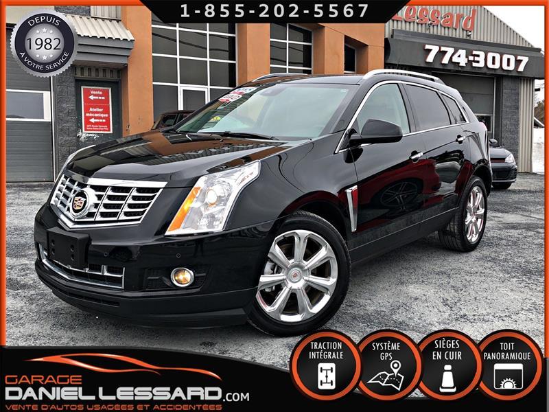 Cadillac SRX 2015 AWD *PERFORMANCE*, GPS, TOIT PANO, BAS KM ET +++ ! #59041