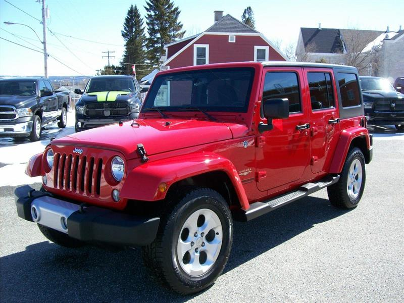 Jeep Wrangler Unlimited 2015 Sahara #K4520B
