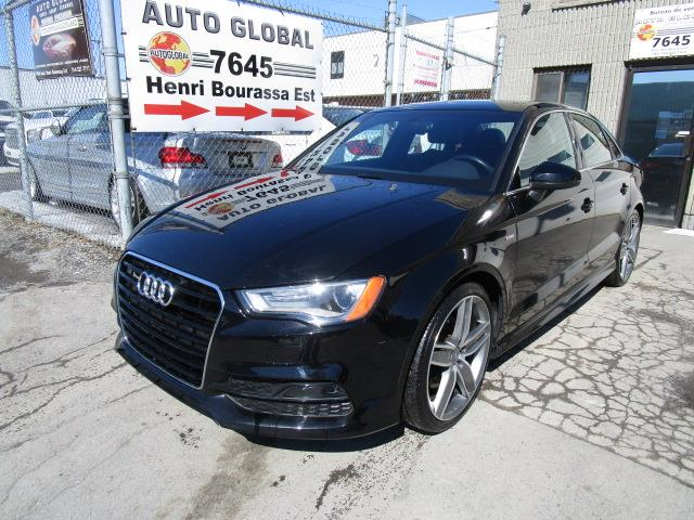 2015 Audi A3 S-Line Mags 19Po Cuir Toit Pano. 1.8T #19-369