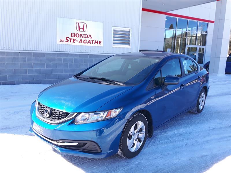 Honda Civic 2014 Man LX *Bluetooth, Cuise, Usb, Groupe élec.... #k084xa