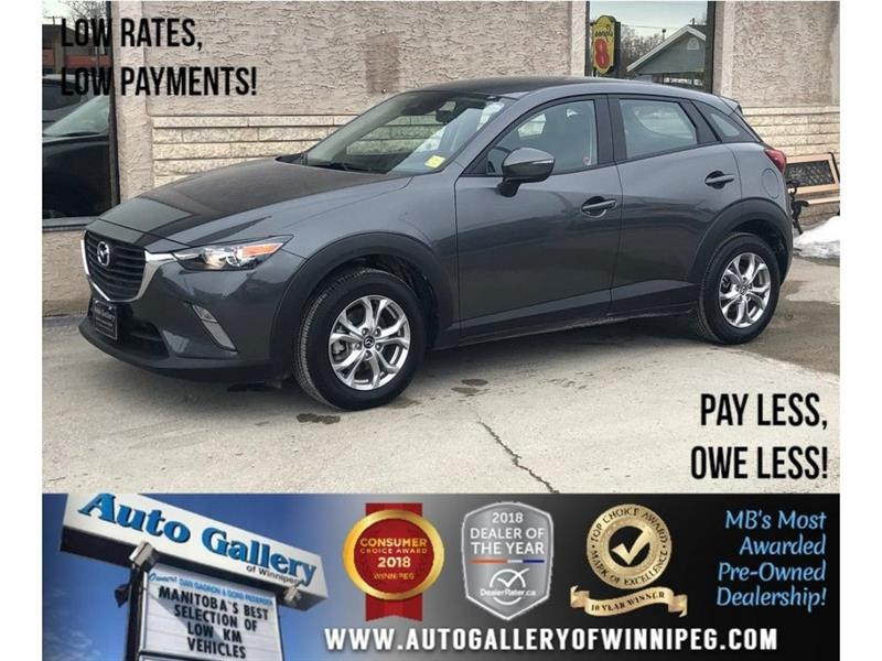 2018 Mazda CX-3 GS *AWD/Htd Seats/Backup Cam/Low KMs! #23773