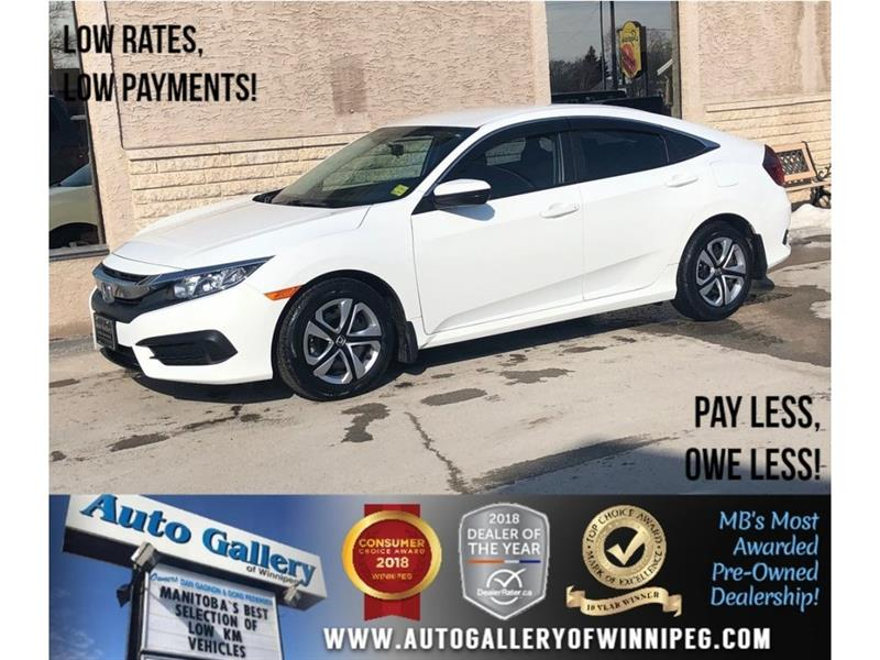 2016 Honda Civic Sedan LX *Backup Cam/Bluetooth/Htd Seats #23778