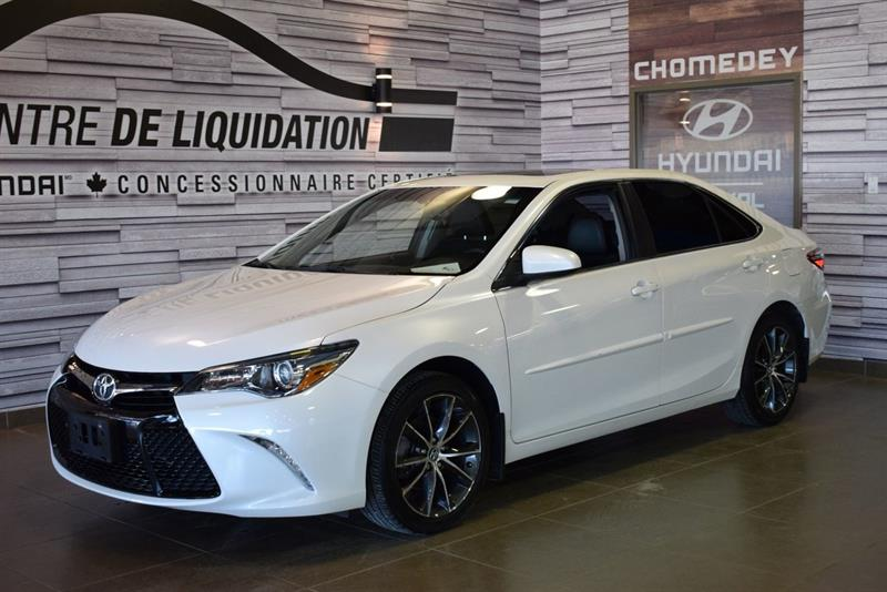 Toyota Camry 2015 XLE+TOIT+MAGS+GPS #S9075