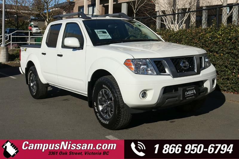 2018 Nissan Frontier | PRO-4X | 4WD | Leather Pckg CC Short Box #JN3197