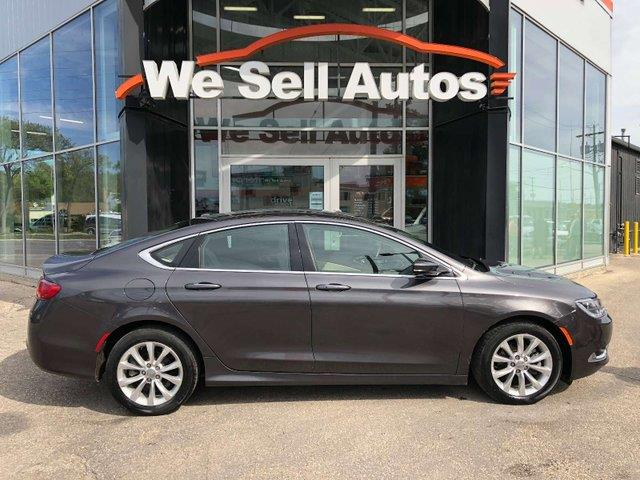 2016 Chrysler 200 C #16C251485