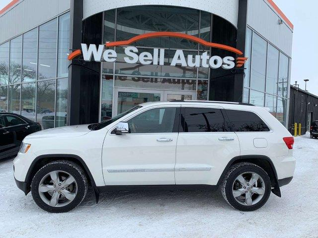2012 Jeep Grand Cherokee Overland #12JC87945