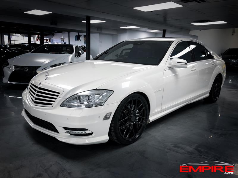 Mercedes-Benz Classe-S 2012 S550 4MATIC AMG PACKAGE #A7066