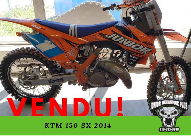 KTM 150 SX 2014