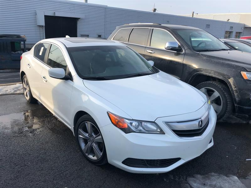 2014 Acura ILX 4dr Sdn PREMIUM cuir/tissus toit ouvrant mags #UD5175