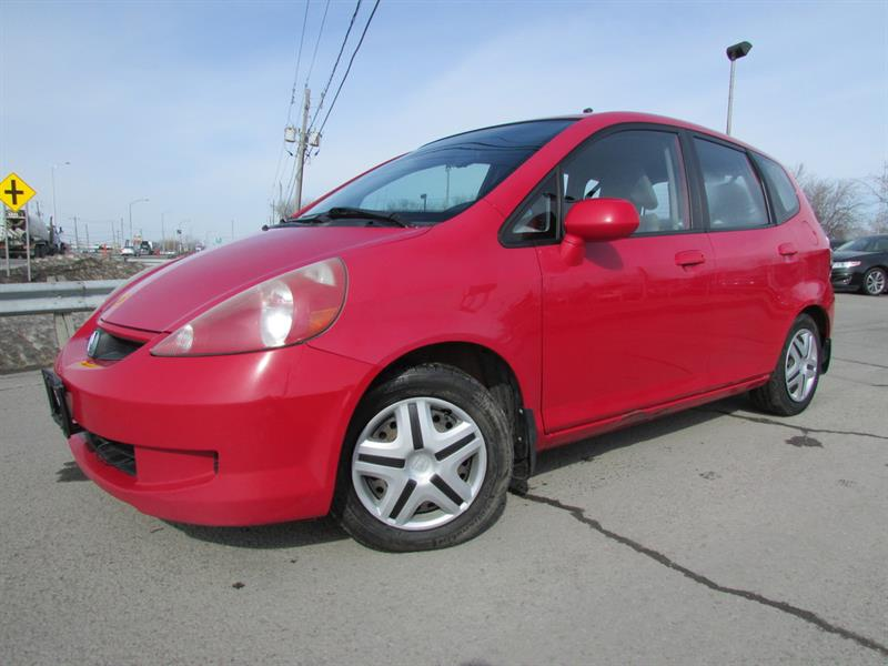 Honda Fit 2007 2007 Honda Fit - 5dr HB MT DX #4302A