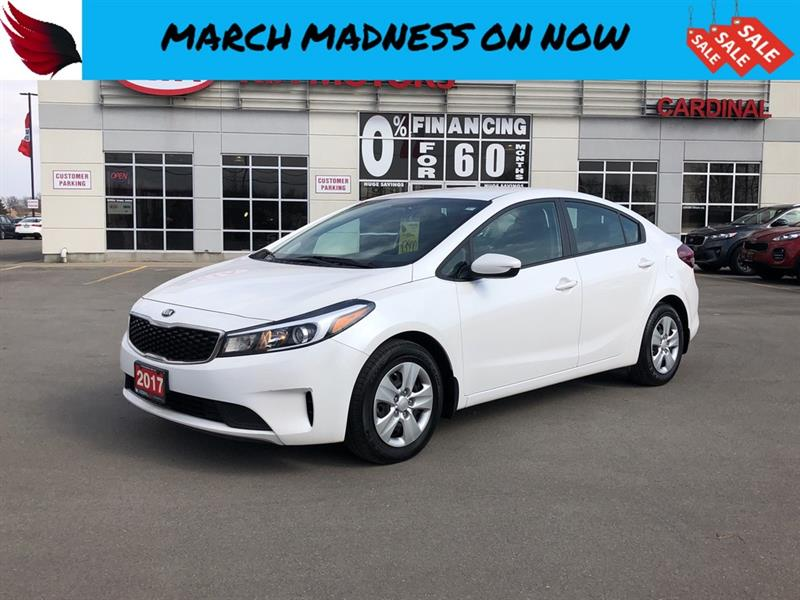 2017 Kia Forte LX with BLUETOOTH and CD PLAYER #FR17056
