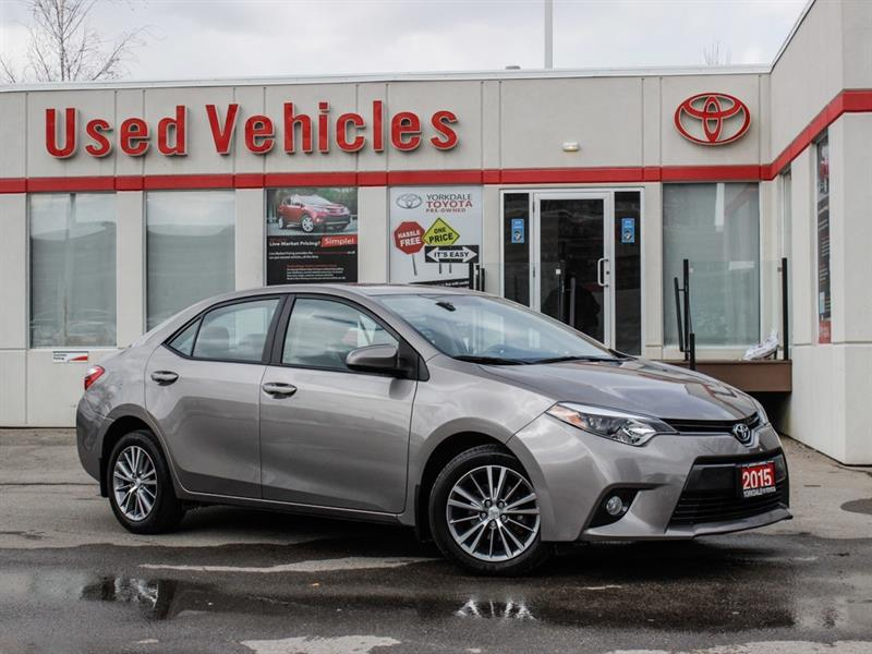 2015 Toyota Corolla LE   Sunroof   Alloys   R.Cam   H.Seats #P7926