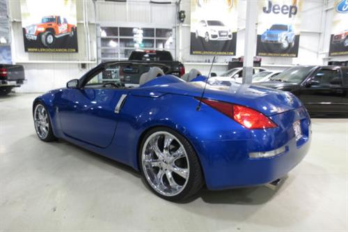 nissan 350z convertible 2004 occasion vendre saint eustache chez le roi du camion. Black Bedroom Furniture Sets. Home Design Ideas