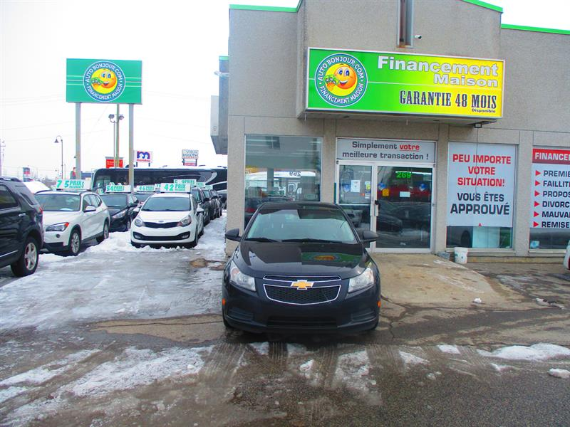 Chevrolet Cruze 2012 4dr Sdn LS+ w-1SB #18-218