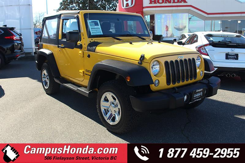 2015 Jeep Wrangler SPORT 4WD Manual #B5640