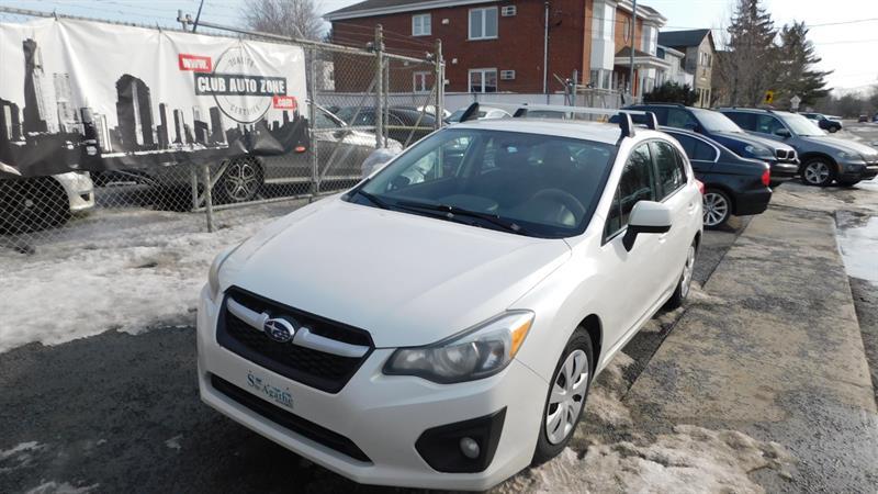 Subaru Impreza 2012 HATCHBACK AUTOMATIQUE AIR CLIMATISÉ #CH221420